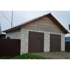 Строительство гаражей из пеноблоков